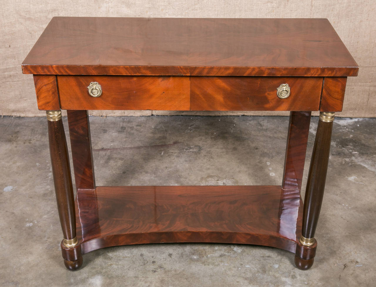 French empire mahogany console table for sale at 1stdibs french empire mahogany console table 3 geotapseo Gallery