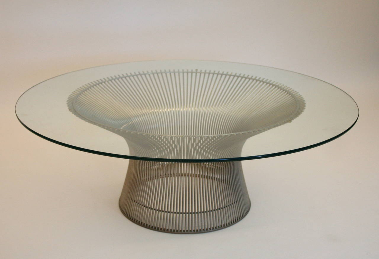 Warren platner coffee table for knoll international at 1stdibs for Warren platner coffee table