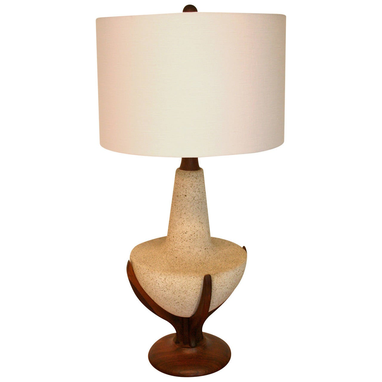 mid century modern table lamp at 1stdibs. Black Bedroom Furniture Sets. Home Design Ideas