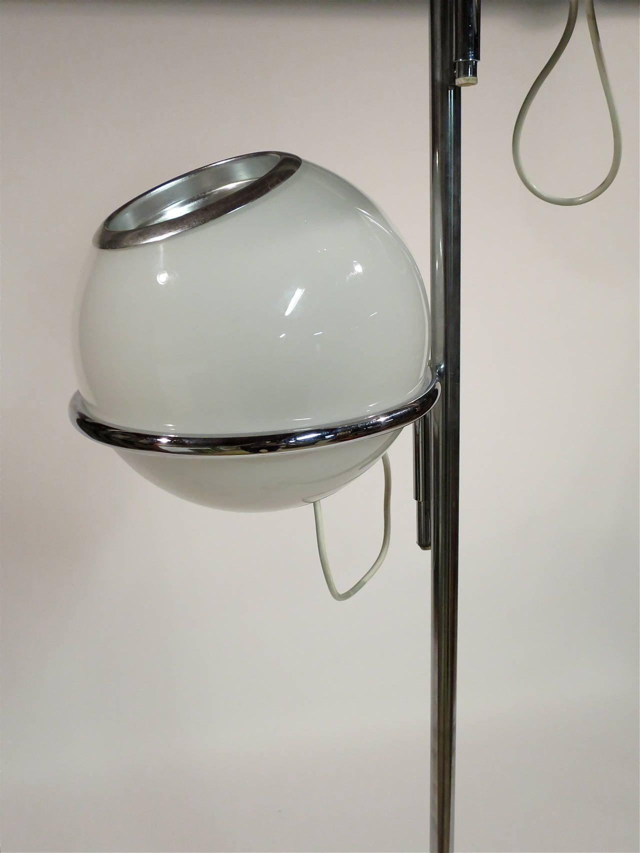 reggiani marble base floor lamp at 1stdibs. Black Bedroom Furniture Sets. Home Design Ideas