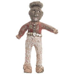 Early 20th Century Bandito Folk Sculpture