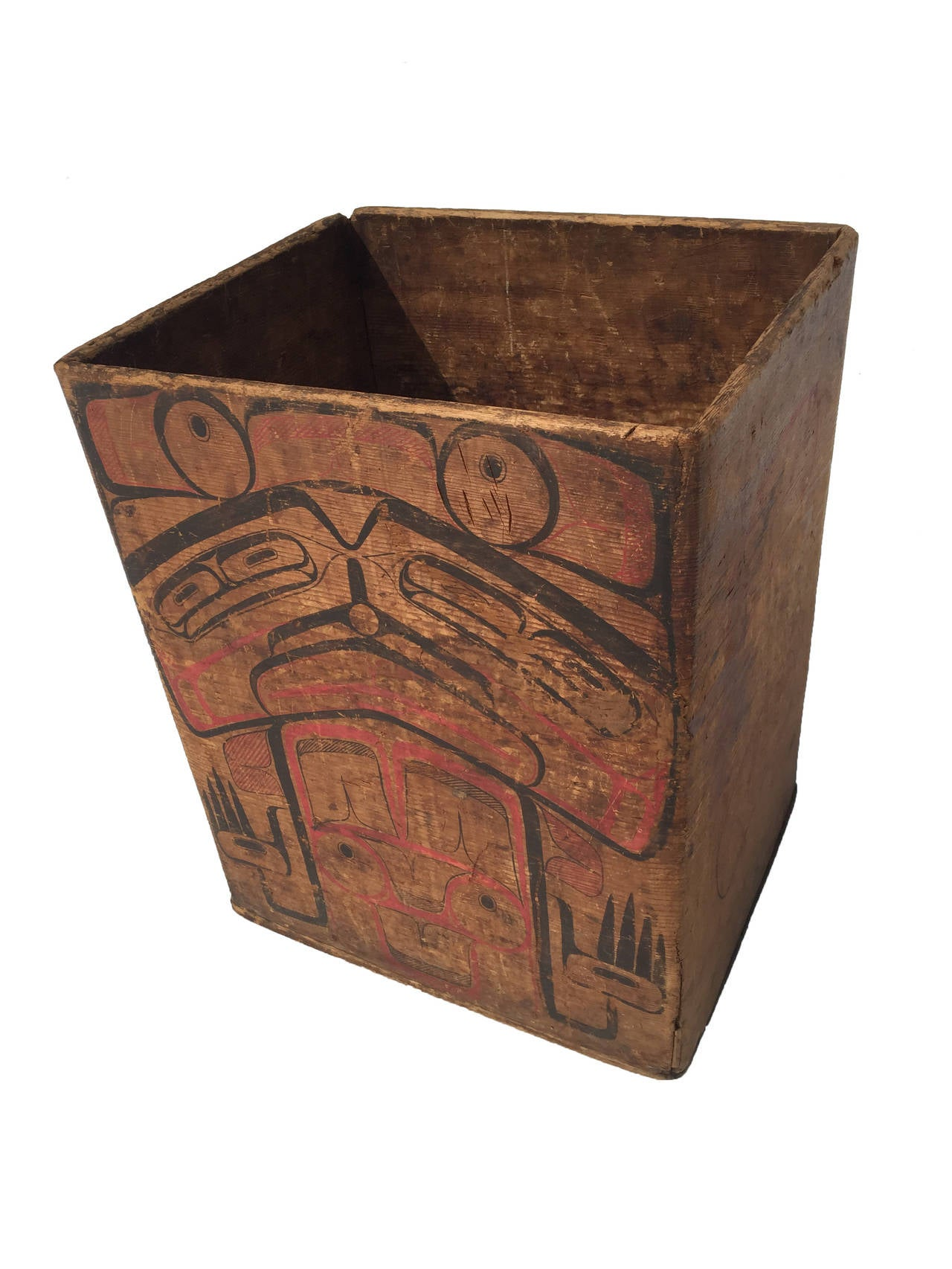 Mid 19th century northwest coast bentwood box image 2 for Furniture northwest