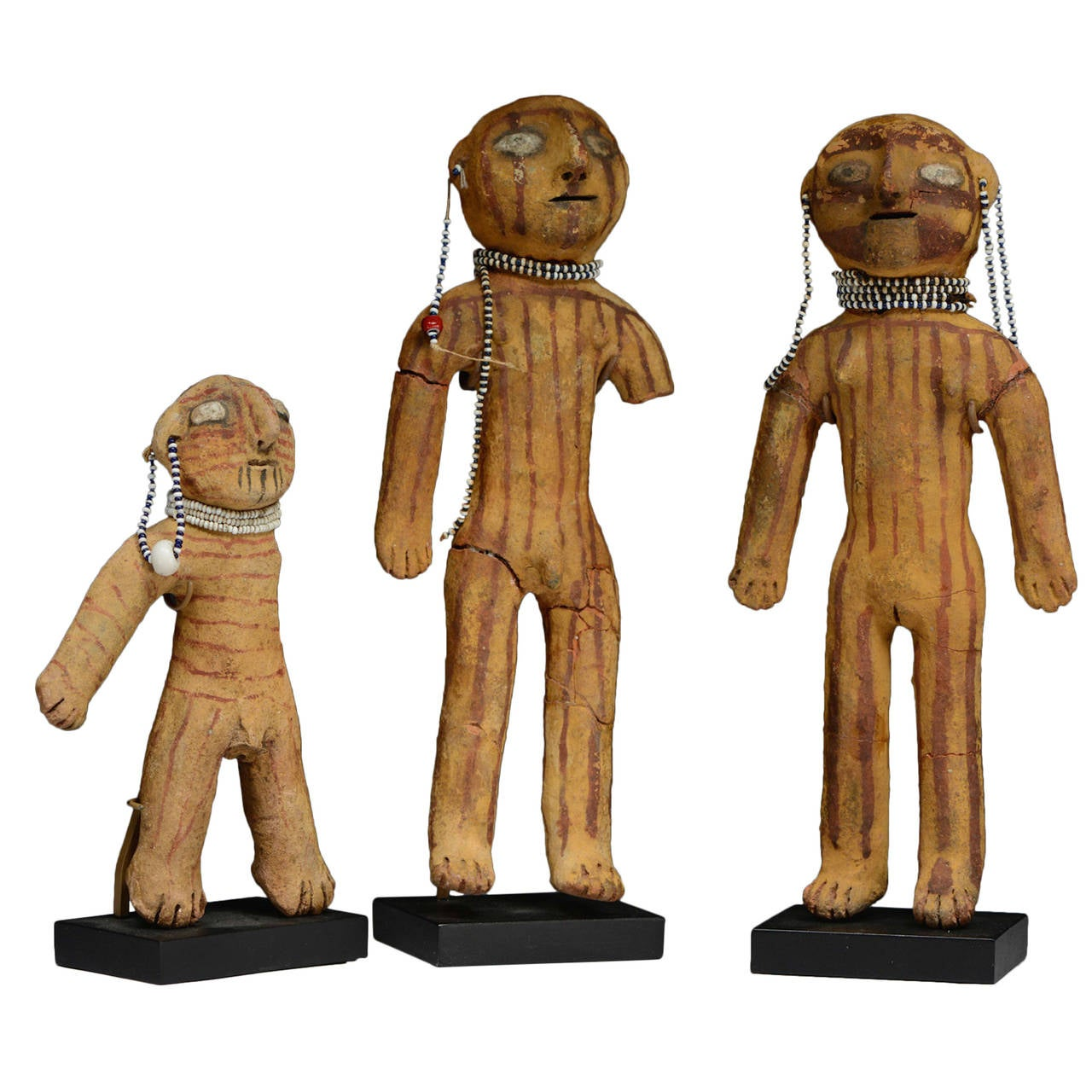 Antique Native American Mojave Dolls, 19th Century