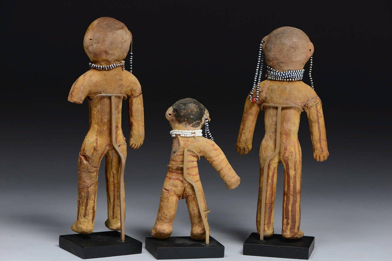 Antique Native American Mojave Dolls, 19th Century 4