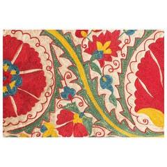 Hand-Embroidered Uzbek Suzani