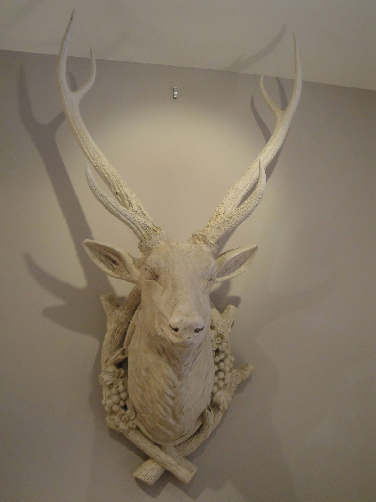 20th century french decorative stags head for sale at 1stdibs - Decorative stags head ...