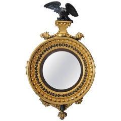 19th Century Regency Convex Mirror