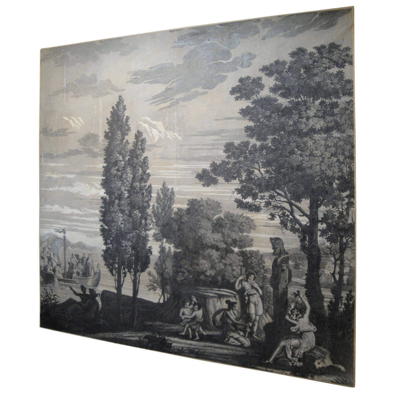 Early 19th Century Grisaille Panel 1
