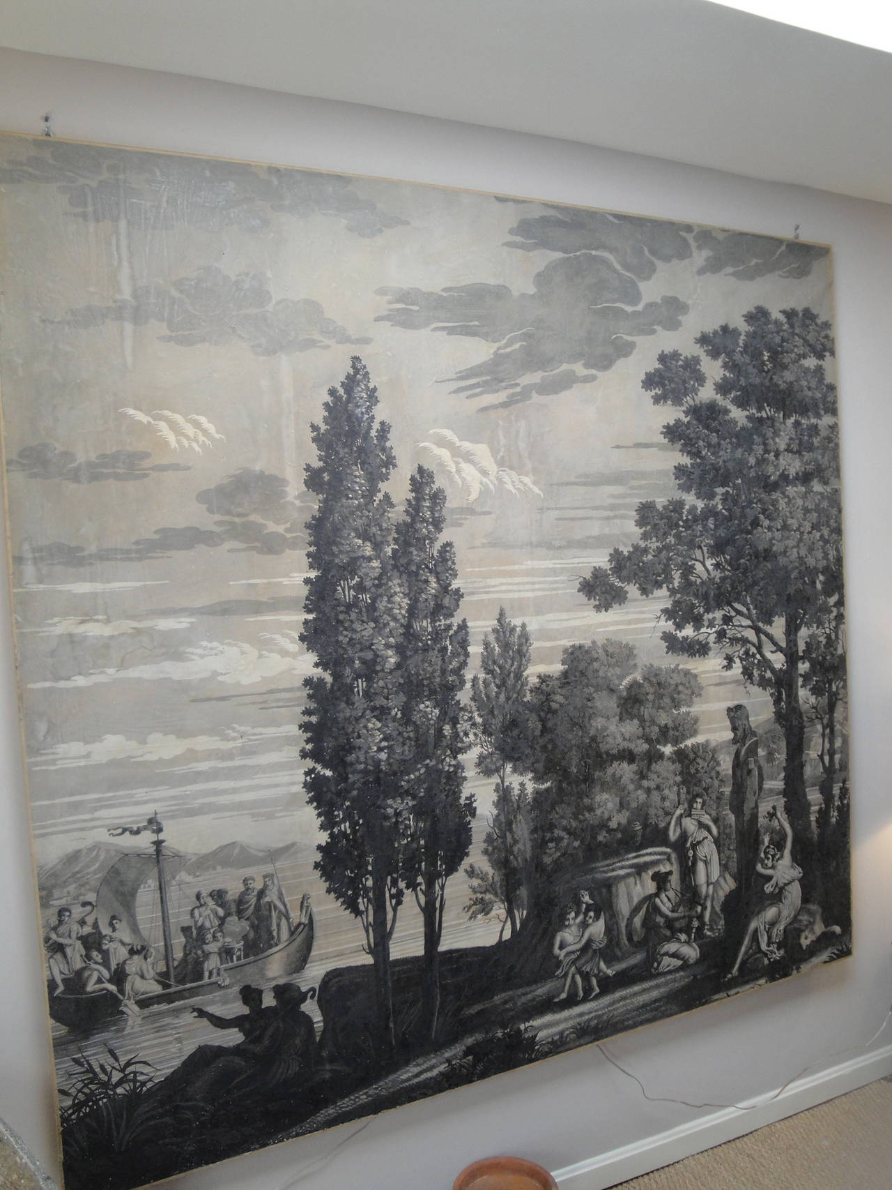 Early 19th Century Grisaille Panel 2