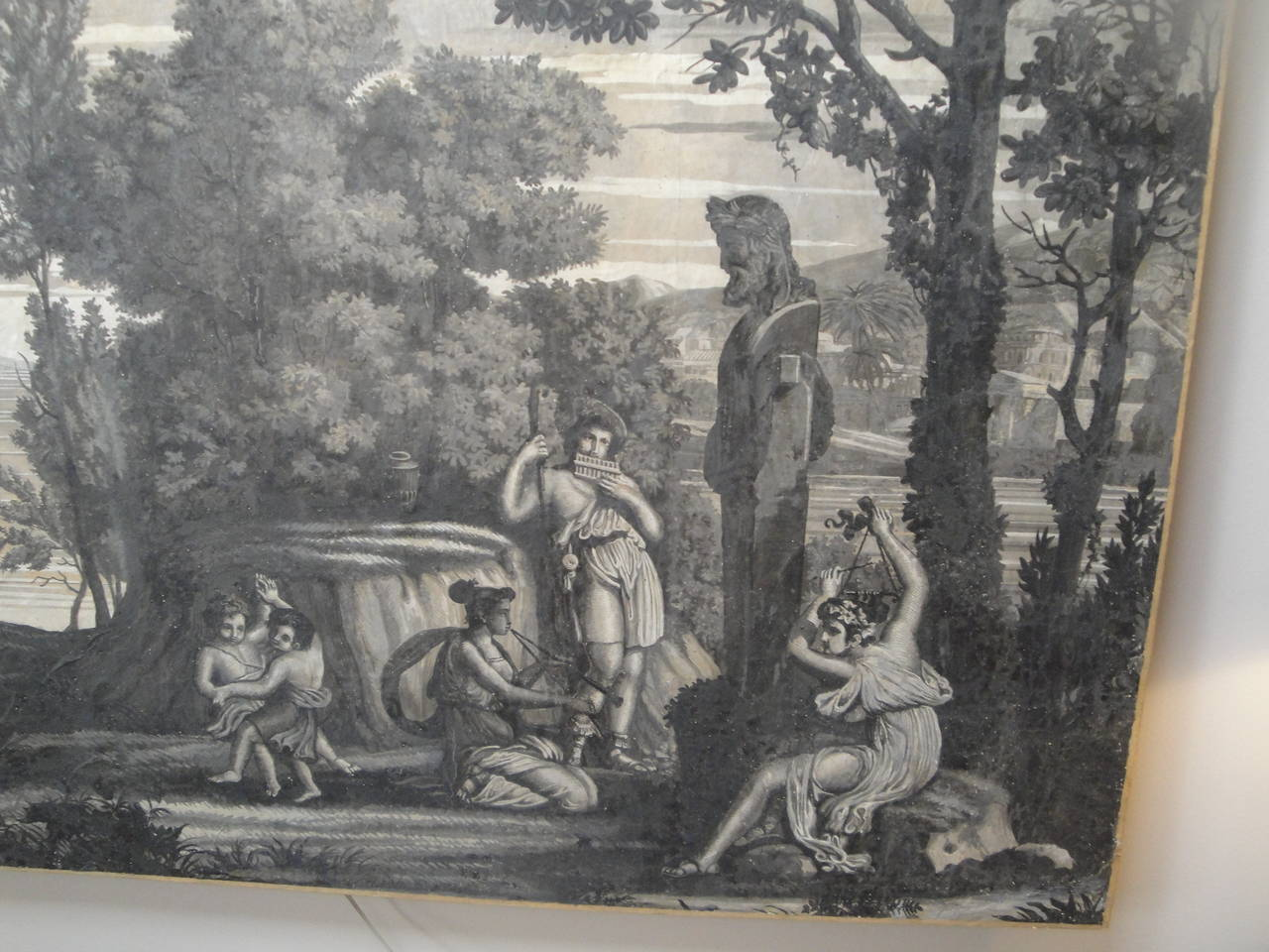 Early 19th Century Grisaille Panel 3