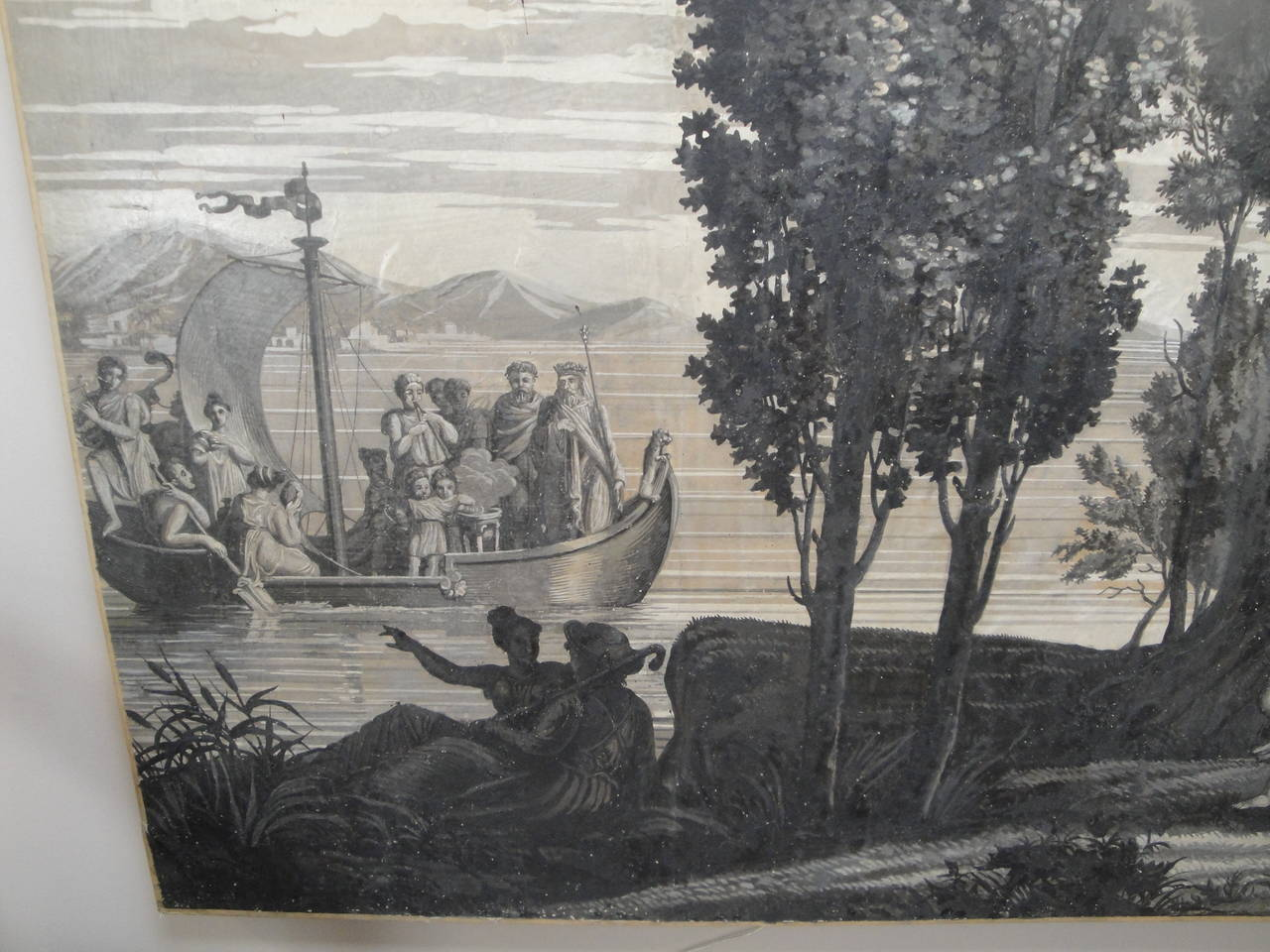 Early 19th Century Grisaille Panel 4