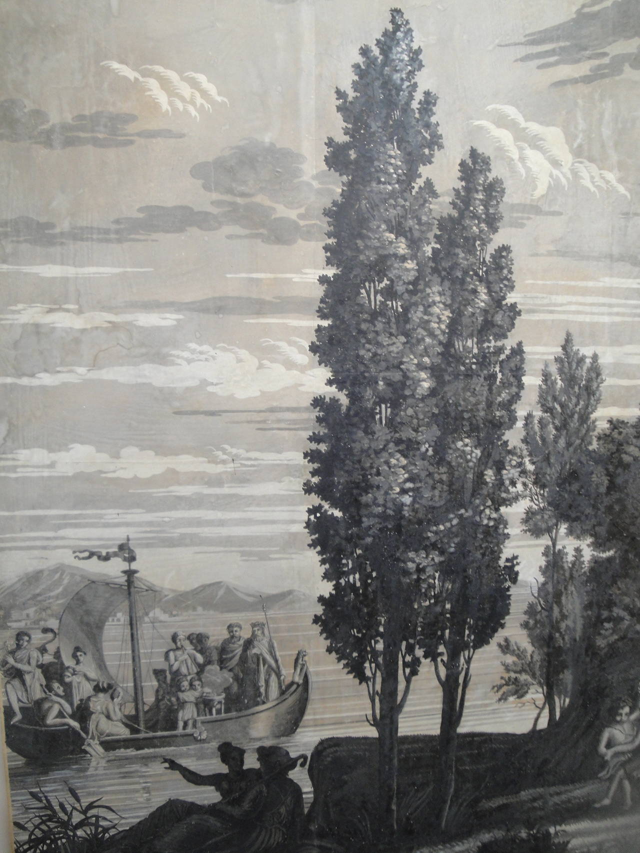 Early 19th Century Grisaille Panel 6