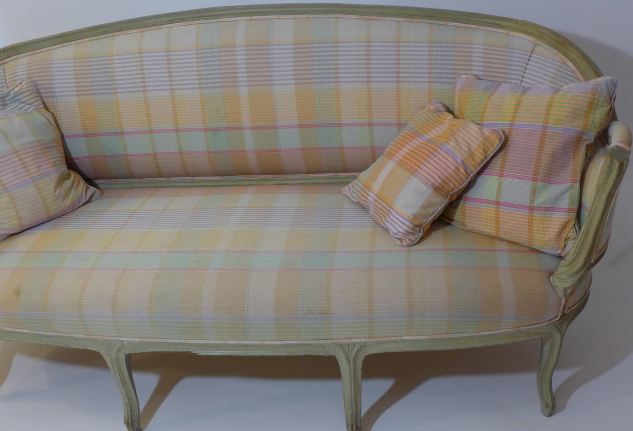 French 19th Century Louis XV Canape For Sale 5
