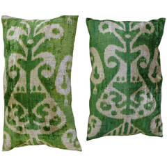 A pair of Turkish Silk Velvet Pillow Covers