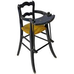 19th Century Dutch High Chair