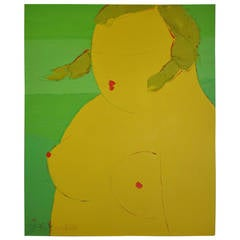"Pang Yongjie, ""Fat Woman Number 2,"" Painting"