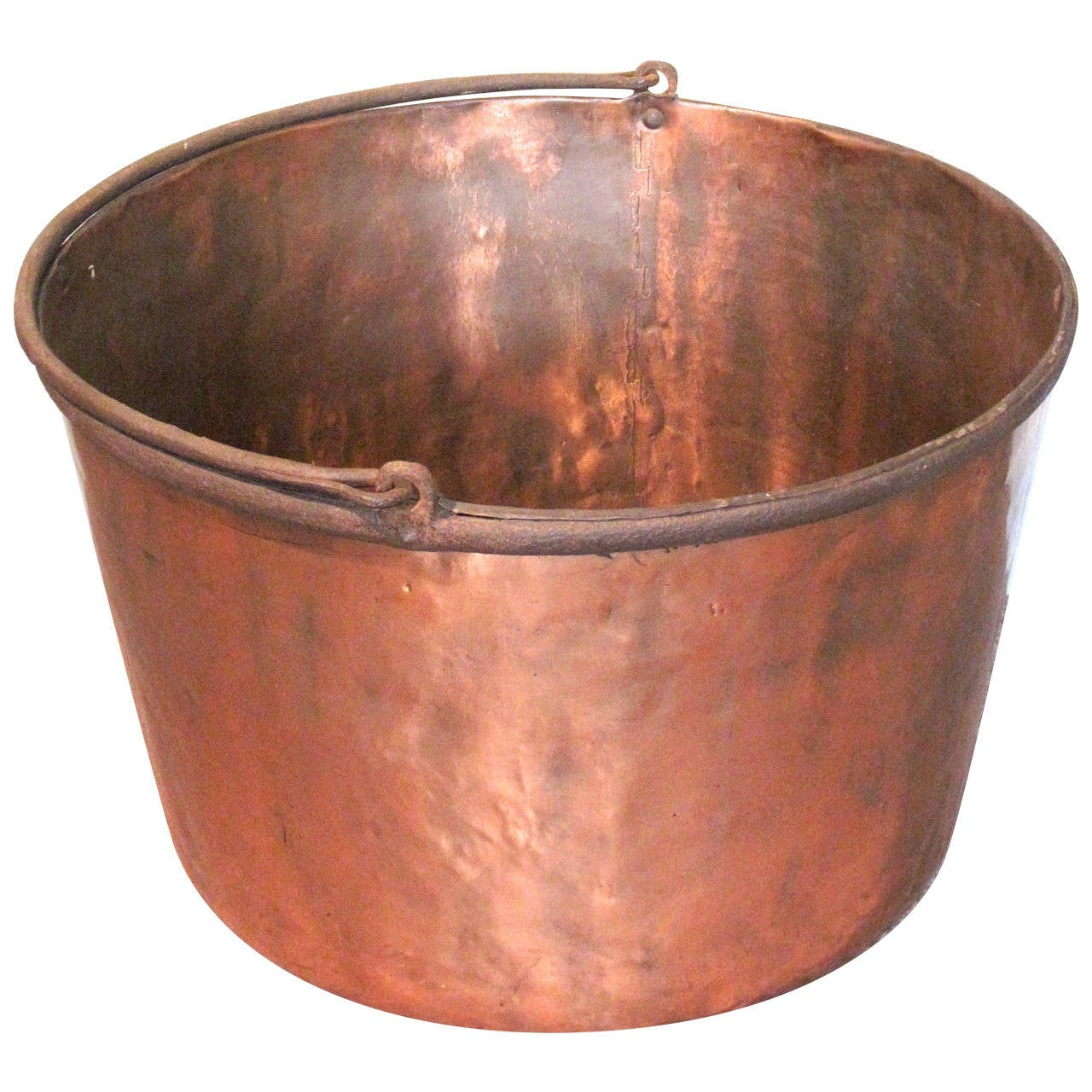 Large Copper Kettle At 1stdibs