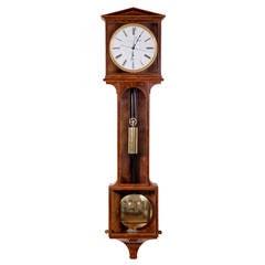"""Month duration Vienna Regulator """"Laterndluhr"""" by Michael Bachner, circa 1830"""