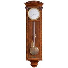 viennse biedermeier dedicated emperor mantel clock for