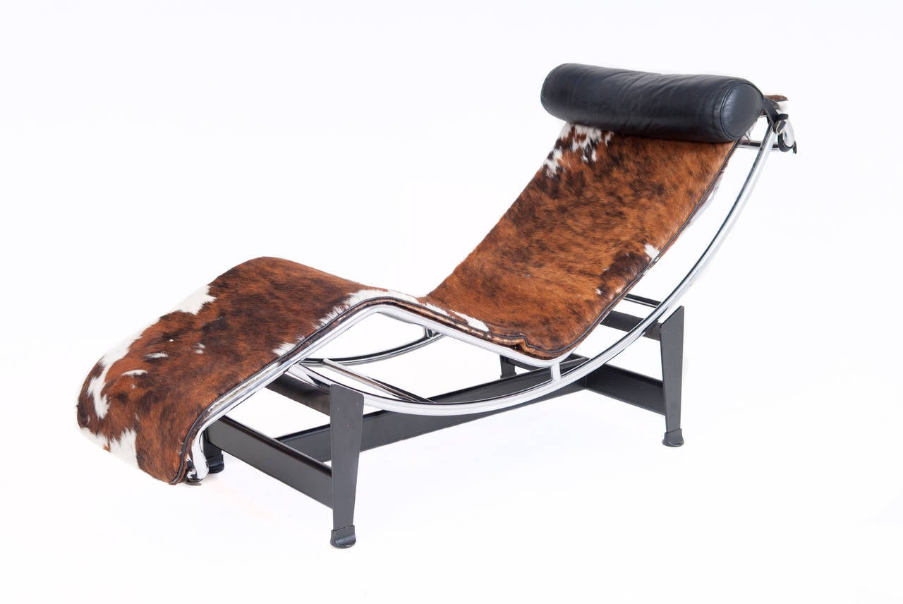 le corbusier chaiselongue lc4 at 1stdibs. Black Bedroom Furniture Sets. Home Design Ideas