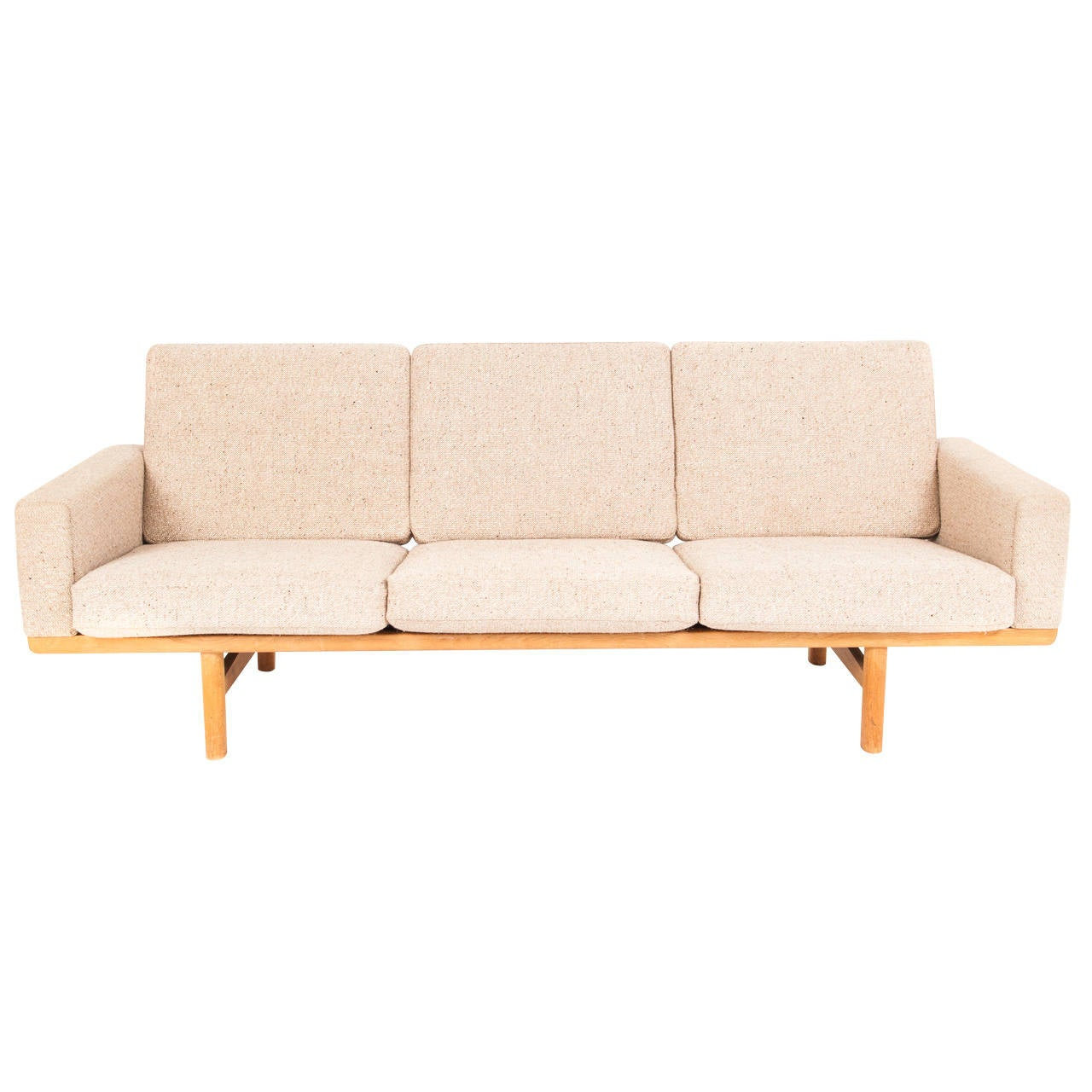 hans j wegner sofa at 1stdibs. Black Bedroom Furniture Sets. Home Design Ideas