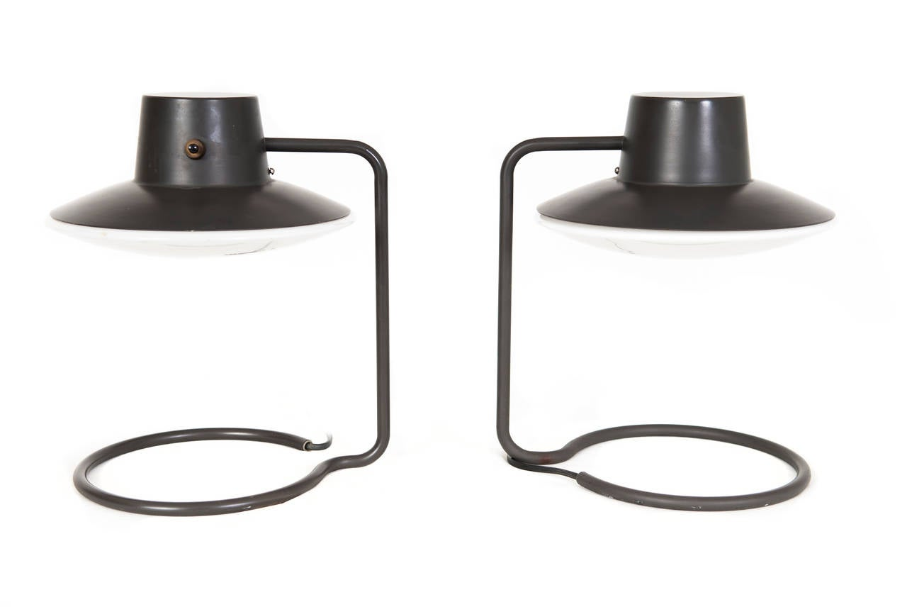 arne jacobsen saint catherine table lamps for sale at 1stdibs. Black Bedroom Furniture Sets. Home Design Ideas