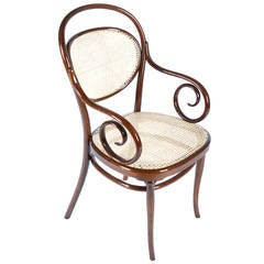 Bentwood Armchair, Thonet No. 11