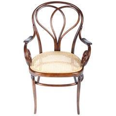 Very rare J. J. Kohn armchair no. 23