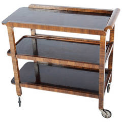 Art Deco Thonet Serving Cart, Trolley