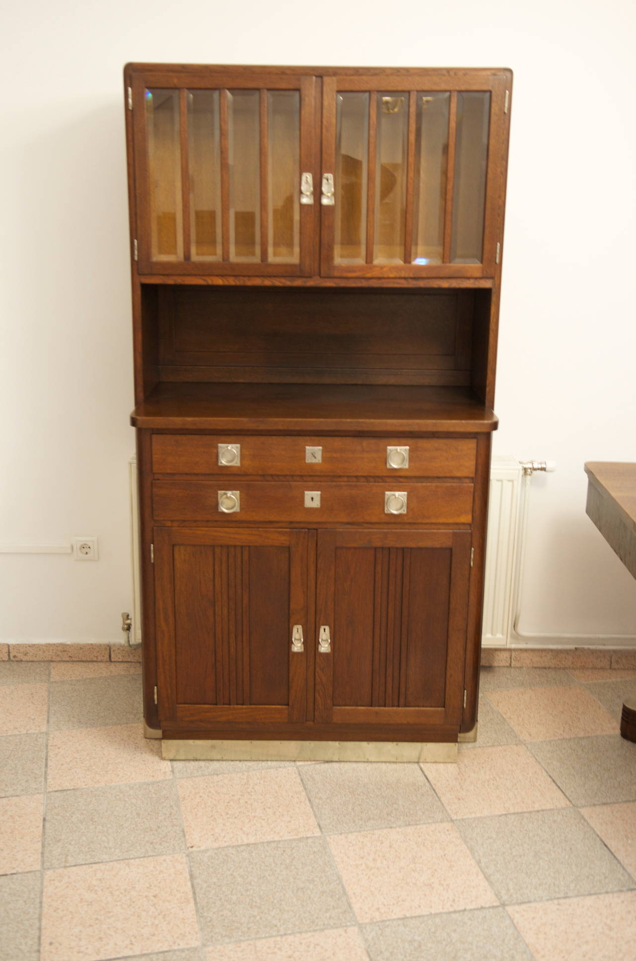Vienna Secession Small Sideboard Credenza Attributed To