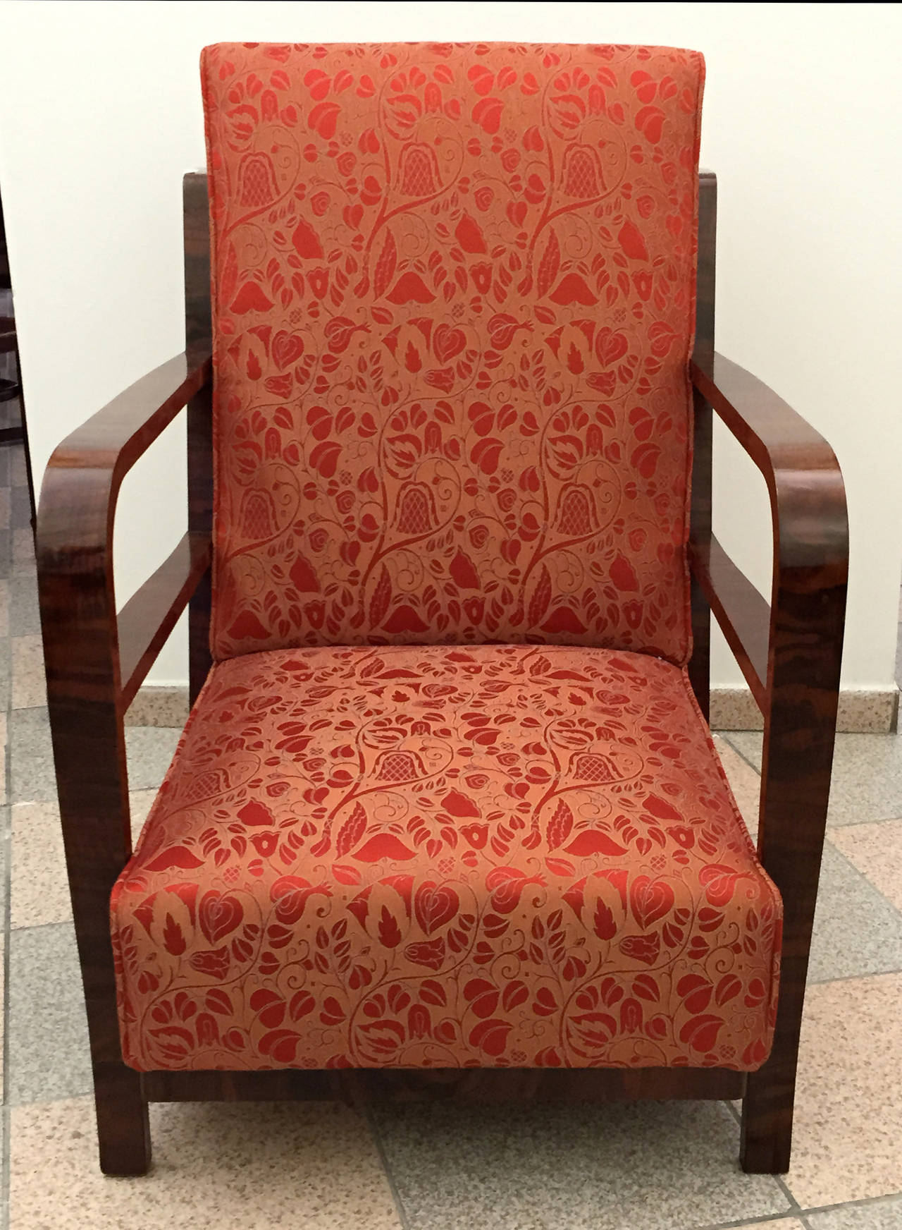 Pair of Art Deco Armchairs, circa 1930 For Sale 2