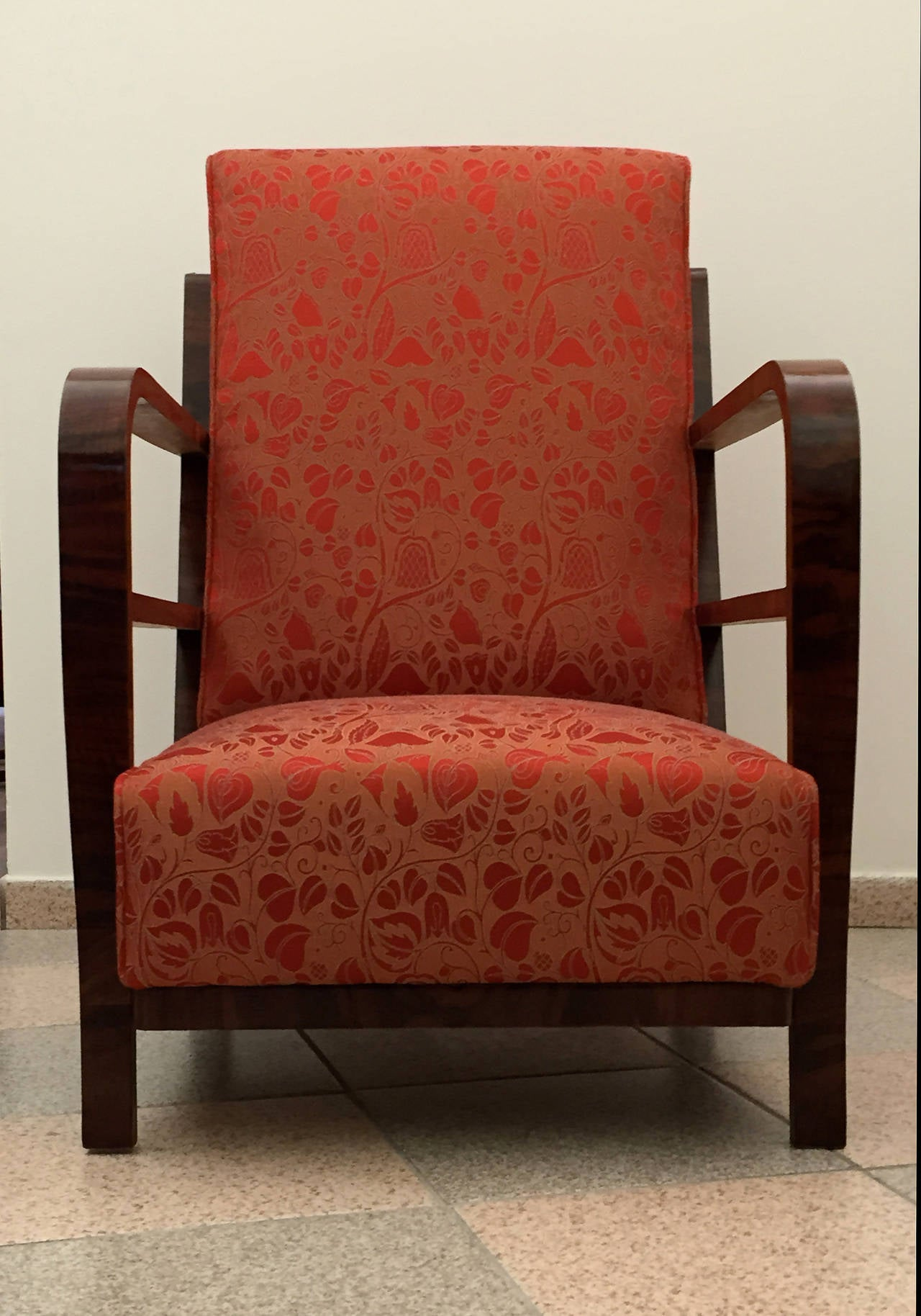 Pair of Art Deco Armchairs, circa 1930 For Sale 1