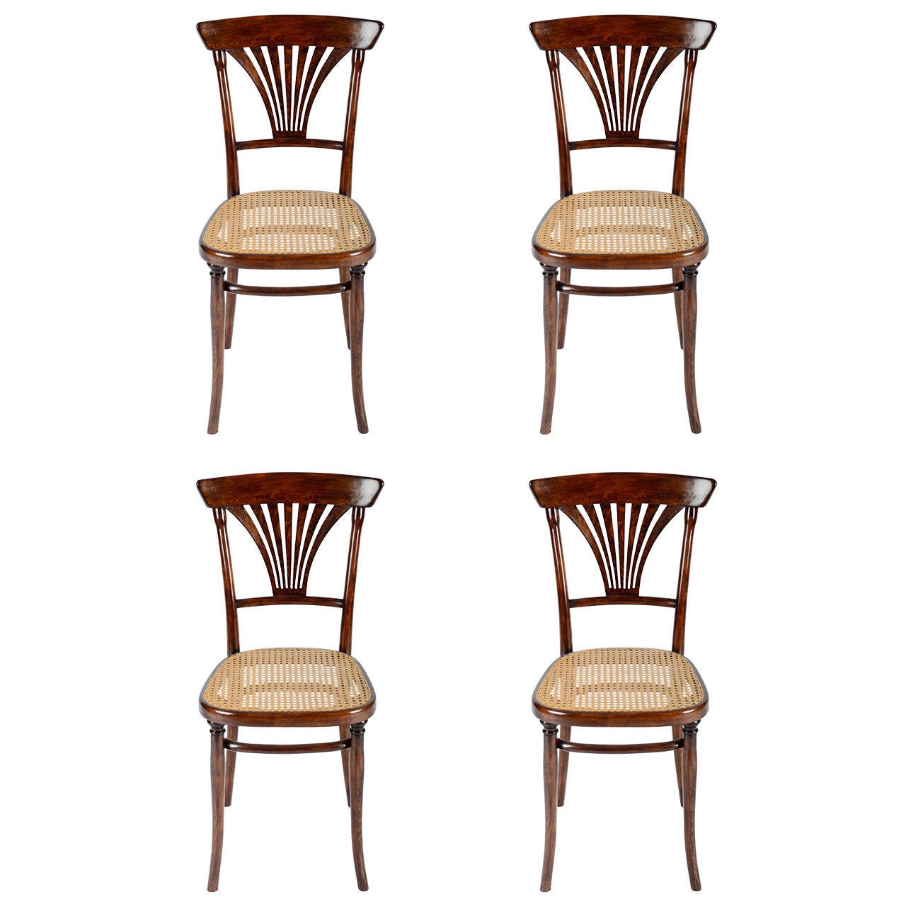 Thonet No. 221 Set of Four Chairs