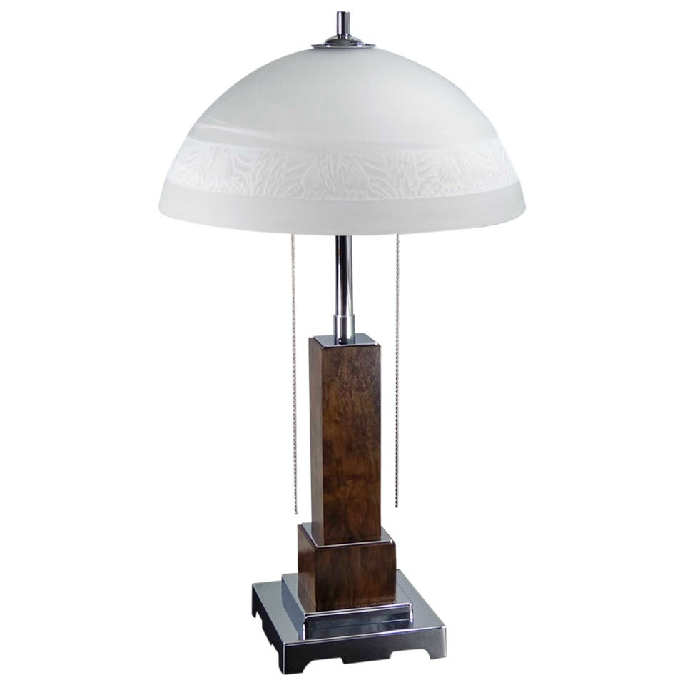 Art deco table or desk lamp circa 1920s at 1stdibs for Art deco style lamp