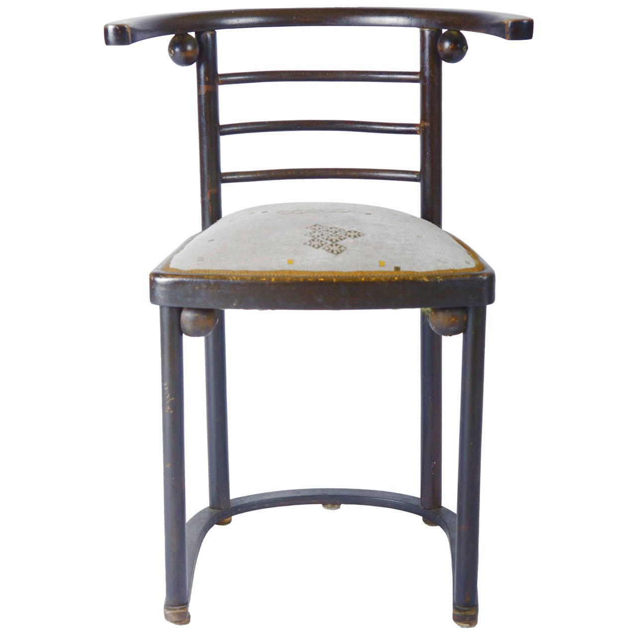 "Kohn Chair Model No. 728 ""Fledermaus"" by Josef Hoffmann"
