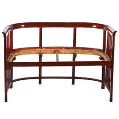 Bentwood Bench Attributed to Josef Hoffmann