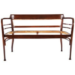 Thonet Bench Attributed to Otto Wagner
