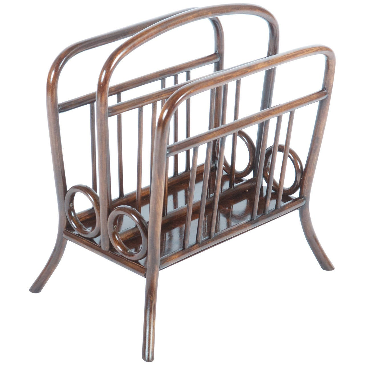 newspaper rack 1. Thonet Bentwood Music Or Newspaper Rack For Sale 1