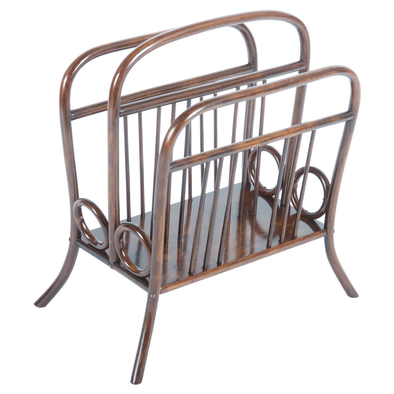 Thonet Bentwood Music or Newspaper Rack, Catalogue Number 33