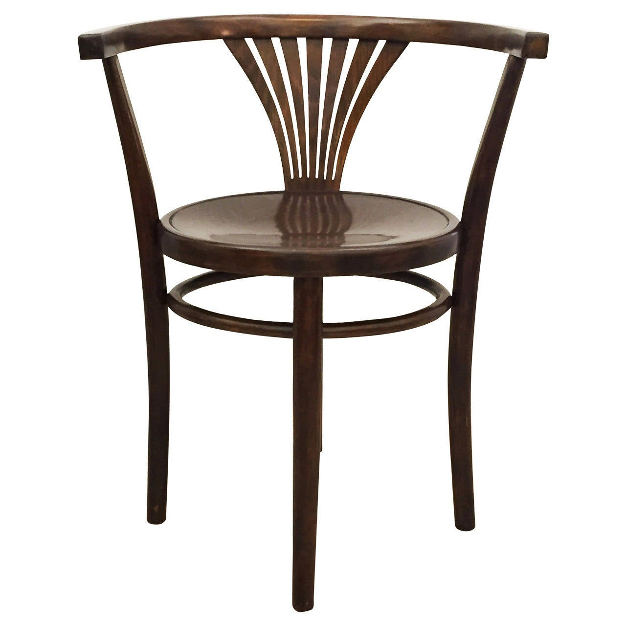 Thonet Armchair Catalog Number 28 For Sale