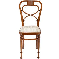 Rare Vienna Secession Thonet Chair
