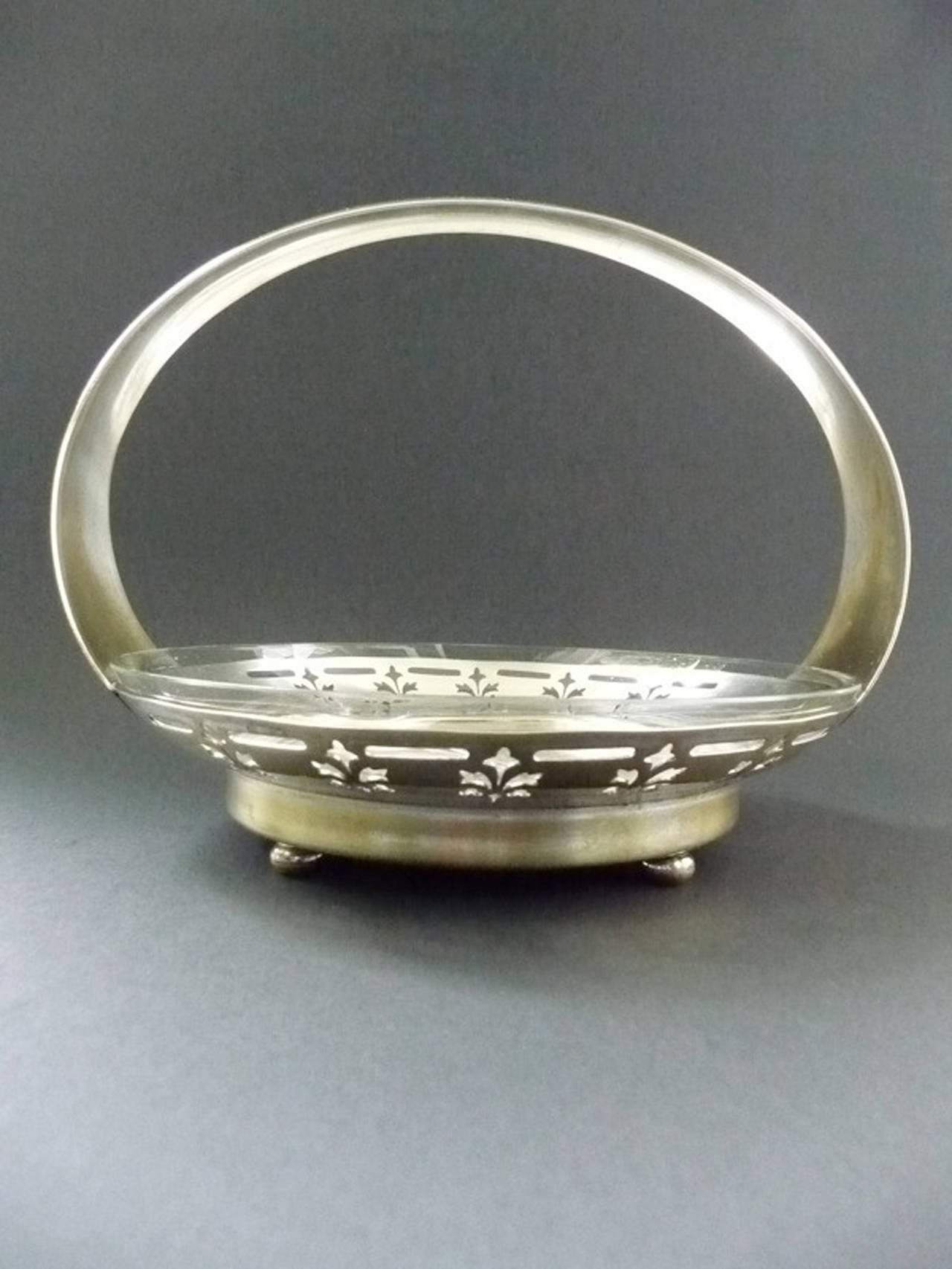 Vienna Secession Argentor Jardiniere In Excellent Condition For Sale In Vienna, AT