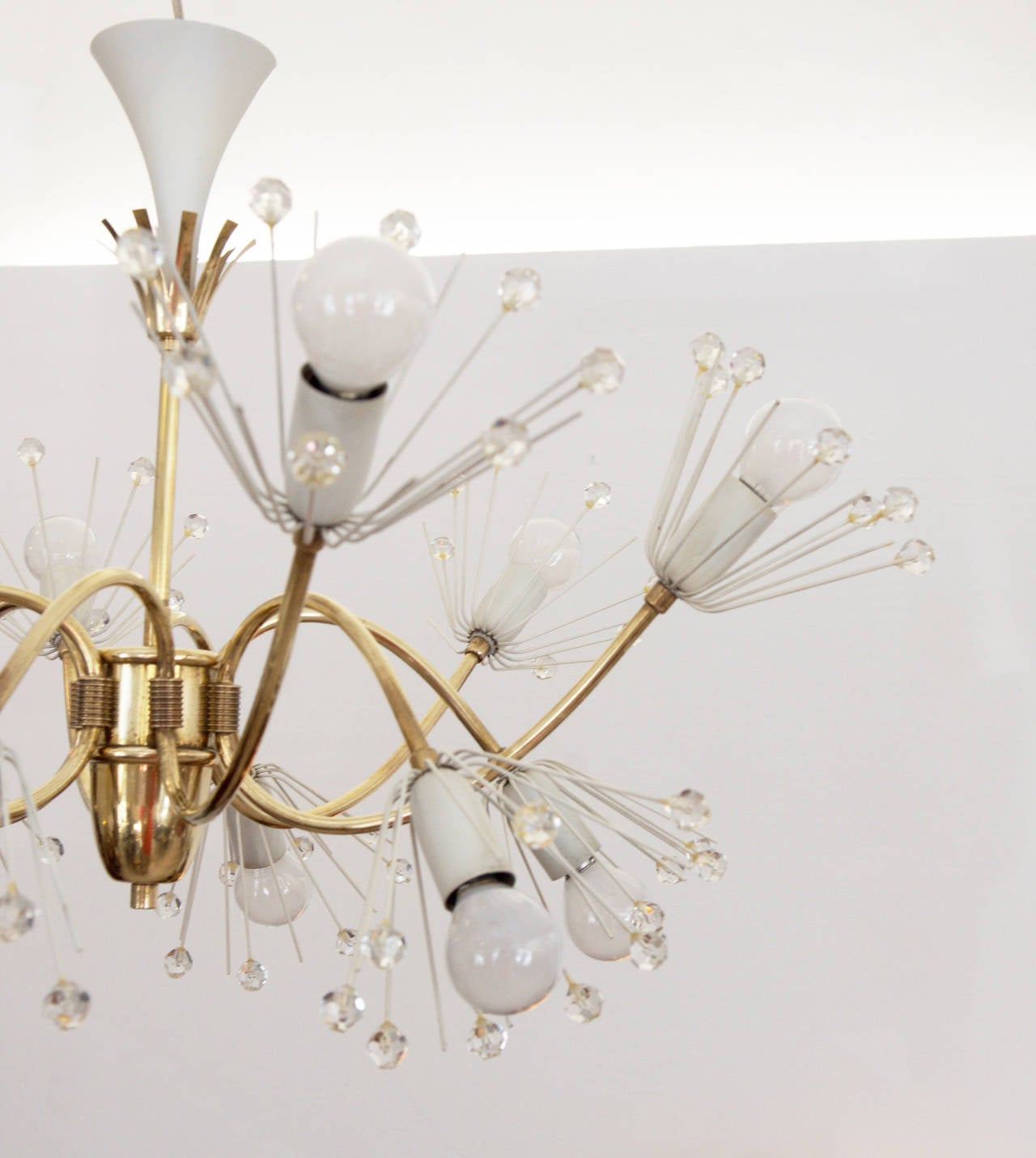 This ceiling lamp called Snowflakes was designed by the designer Emil Stejnar in the 1950s. 