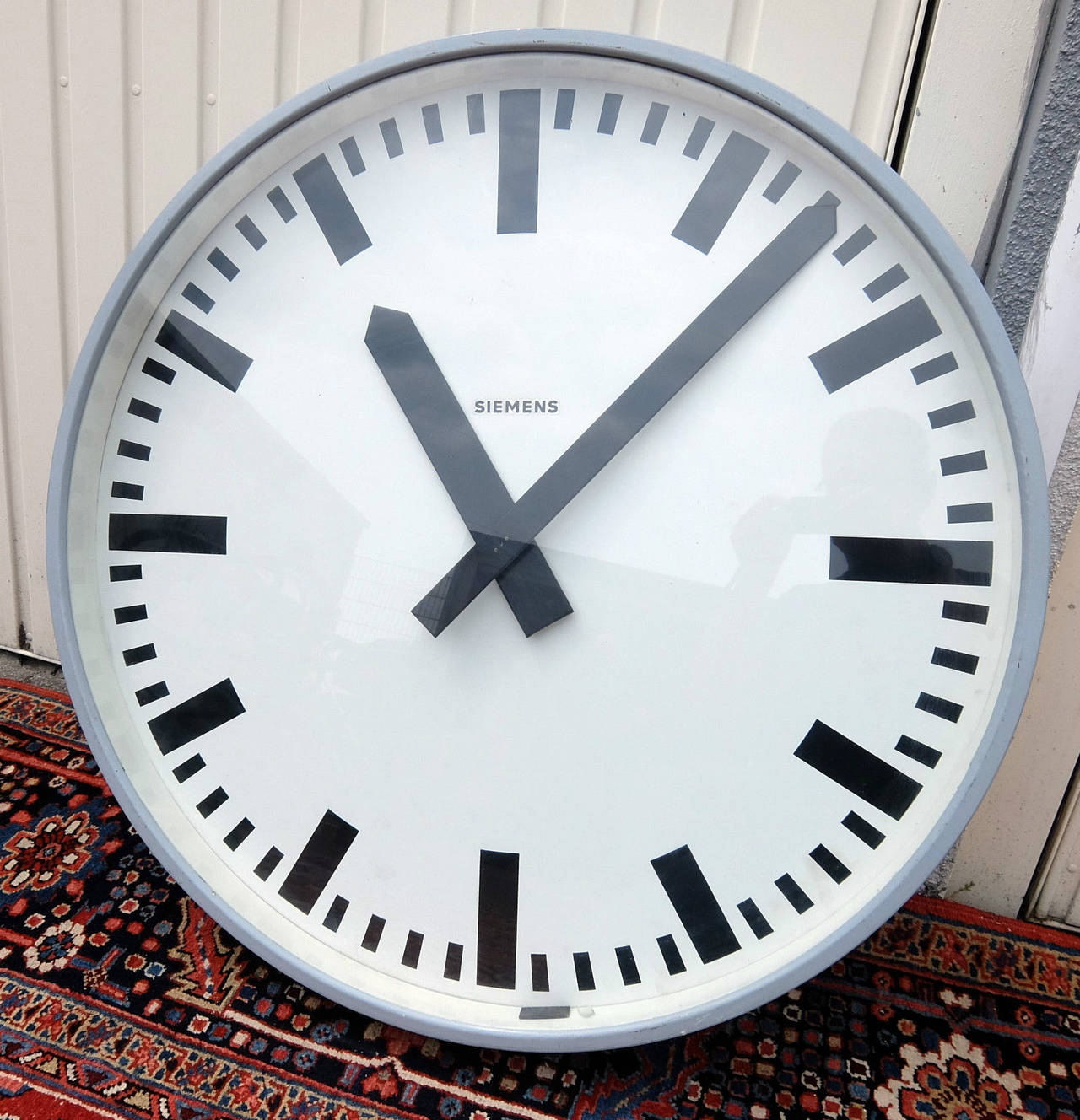 100 Large Numbers Lucite Wall Clock | Glass Painting Wall ...