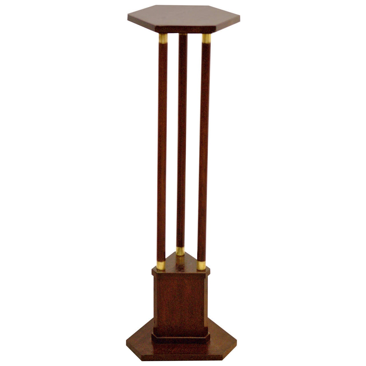Vienna Secession Pedestal Or Flower Stand At 1stdibs