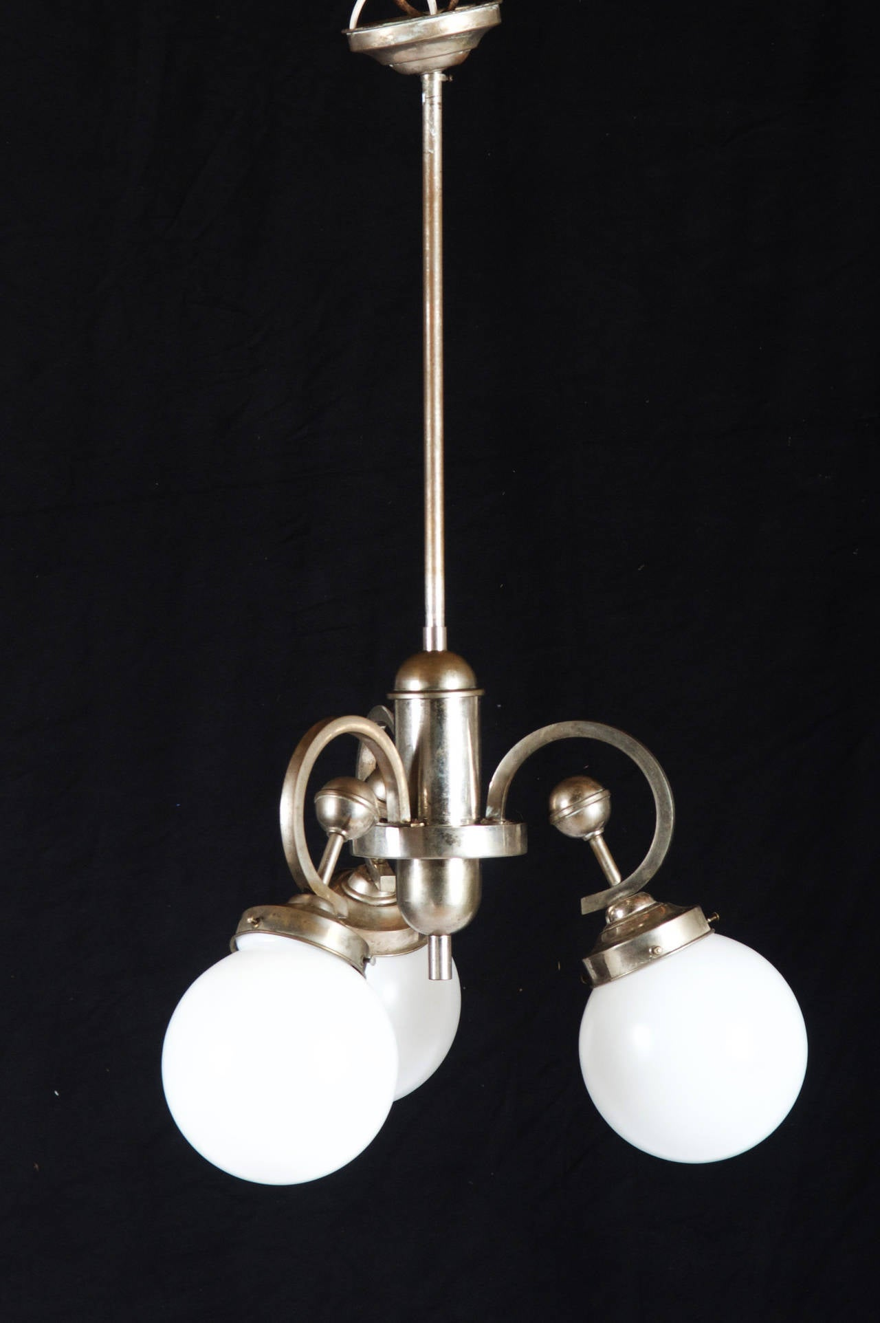Art Deco chandelier from circa 1930s.