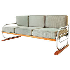 Art Deco Streamline Bench