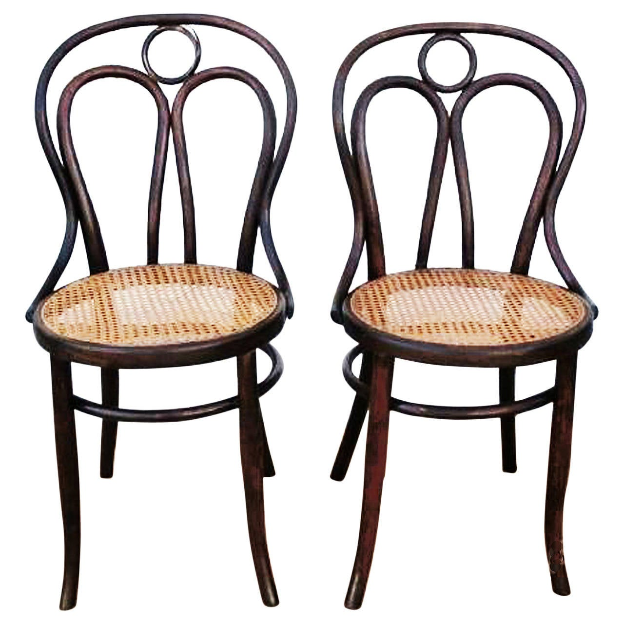 "Pair of Kohn Chairs No. 36, the ""Angel Chairs"""