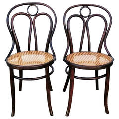 "Pair of Kohn Chairs No. 36, the ""Angel Chairs"""