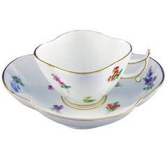 "Meissen Cup ""Flowers"""